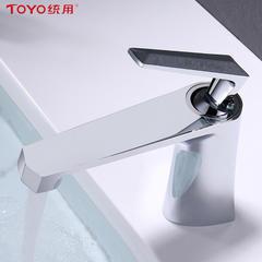 统用TY-37305A单孔面盆龙头  优质黄铜 电镀工艺 冷热双控 单孔龙头