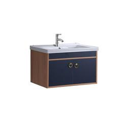 佳哲 轻奢蓝 60CM 浴室柜 不含镜子