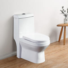 墙排式马桶 陶瓷卫浴坐厕后出水坐便器 防臭家用大口径横排座便器 大益高 - 地排 305mm