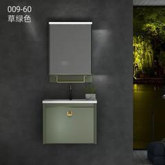 米美  009-60  浴室柜 草绿色