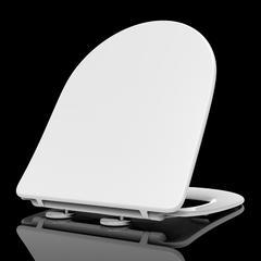 辉源卫浴加厚型缓降静音座便器脲醛盖板2316