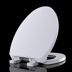 辉源PP盖板通用坐便盖加厚缓降老式马桶盖静音坐便厕所板188