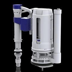 辉源水件马桶配件进水阀抽水坐便器水箱上水通用排水阀5201+6033D