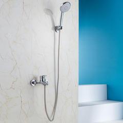 淋浴花洒套装浴室淋浴器简易淋浴挂墙式浴缸水龙头 AEO1T1105-不带升降杆【无水压限制】1