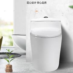 玺陶马桶 卫生间家用坐厕普通抽水坐便器 小户型虹吸式座便器